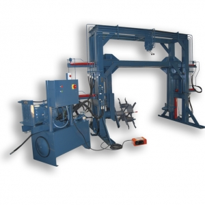 gantry style coilers and reelers